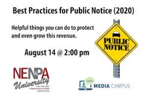 Best Practices for Public Notice (2020)